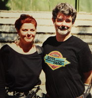 erna valentini and George Lucas in Young Indie