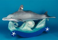 Schaukel -Stuhl Delfin