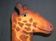 Giraffe / Kinder Stuhl