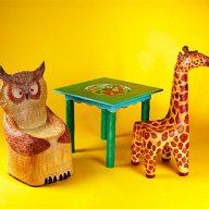 der Freund im Kinderzimmer - Kinderstühle Sitzhöhe cm35