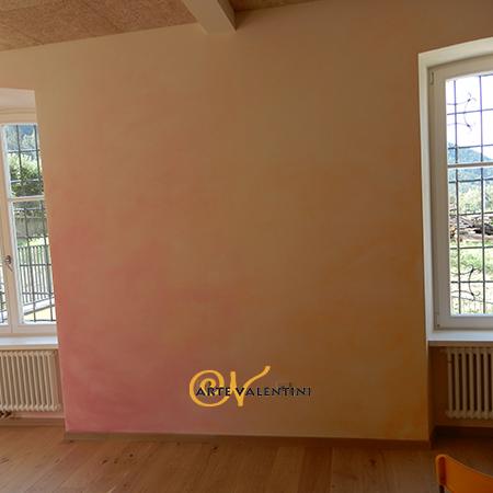 erna valentini wandgestaltung Waldorfschule Sarns Klassenzimmer Wandgestaltung