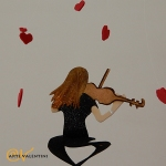 violinistin back windspiel erna artevalentini